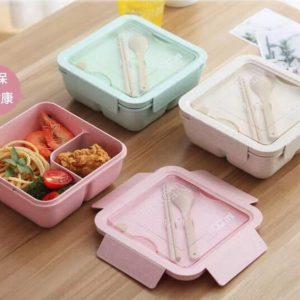 กล่องข้าวผลิตจากฟางข้าวสาลี 1100 มิล