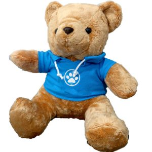 ตุ๊กตาหมี ใส่เสื้อ สามารถสั่งสกรีนโลโก้บนเสื้อ