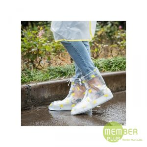 ถุงคลุมรองเท้ากันน้ำกันฝน ของพรีเมี่ยม สกรีนโลโก้
