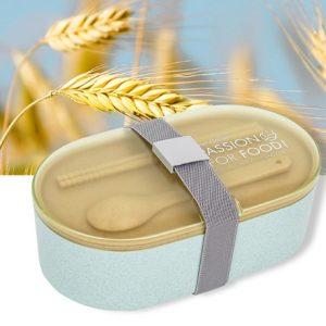 กล่องข้าวสกรีนโลโก้ Eco Friendly Products