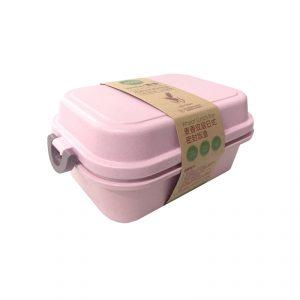 Eco Products กล่องข้าว ทำจากฟางข้าวสาลี พรีเมี่ยม