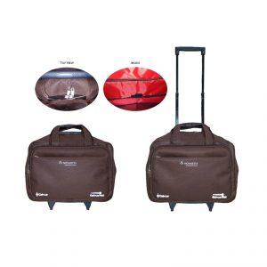 กระเป๋าเดินทางแบบมีคันชัก กระเป๋าเดินทางพรีเมี่ยม สกรีนโลโก้