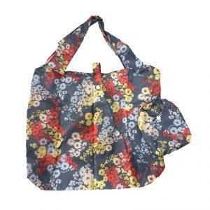 กระเป๋าผ้าพับได้ Foldable Bag มี 2 ชิ้นลาย Flower Spring