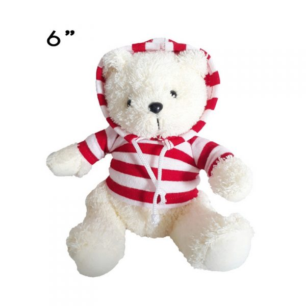 ตุ๊กตาหมีใส่เสื้อฮู้ด ตุ๊กตาพรีเมี่ยม