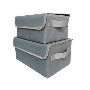 กล่องเก็บของพับเก็บได้ ของพรีเมี่ยม สกรีนโลโก้