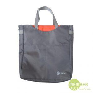 กระเป๋าผ้า 420D ซับในผ้าร่ม กันน้ำได้ สั่งสกรีนโลโก้ แจกลูกค้า