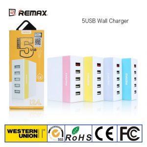 USB HUB อุปกรณ์ต่อพ่วงยูเอสบี พรีเมี่ยม สกรีนโลโก้ 5 Port