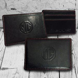 ซองใส่บัตร Leather Card Holder ของพรีเมี่ยม สกรีนโลโก้