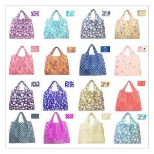 ถุงผ้าพับได้ Foldable Bag พรีเมี่ยม สกรีนโลโก้