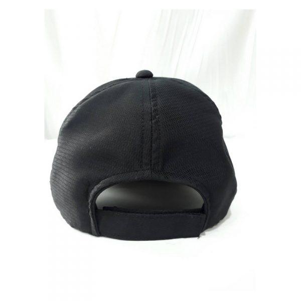 หมวกแก๊ป Cap ปักโลโก้ ทำจากผ้าเม็ดข้าวสาร (เส้นใยสังเคราะห์ Polyester)