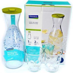 เหยือกน้ำ Tempered Glass พร้อมแก้ว