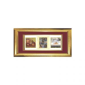 สั่งทำกรอบรูป Photo Frame ขอบทอง มีหลายขนาดให้เลือก