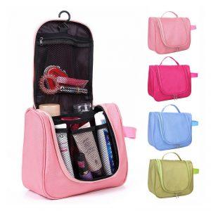 กระเป๋าเครื่องแป้ง Toiletry Bag อุปกรณ์อาบน้ำ Toilet Bag พรีเมี่ยม สกรีนโลโก้