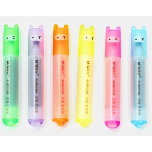 ปากกาไฮไลท์ Set 6 สี