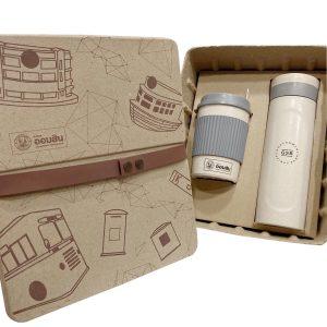 ชุดแก้วกระบอกน้ำรักษ์โลก Eco Gift Set Wheat Bottle