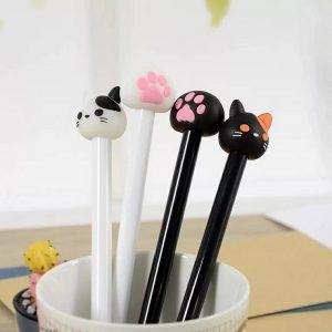 ปากกาหัวตุ๊กตาแมว พรีเมี่ยม สกรีนโลโก้