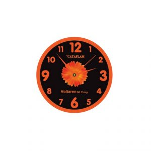 Wall Clock Premium Screen Logo
