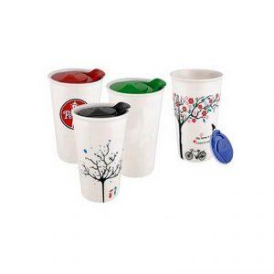 พิมพ์ลายแก้วเซรามิค สกรีนแก้วเซรามิค Ceramic Mug พรีเมี่ยม