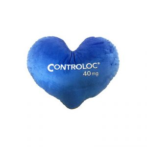 หมอนอิงรูปหัวใจ สีน้ำเงิน หมอนพรีเมี่ยม