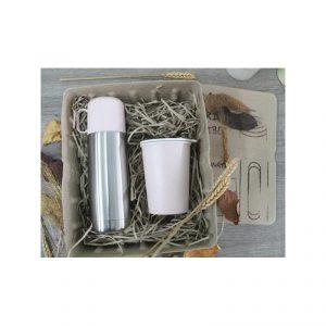 กระบอกน้ำสแตนเลส แก้วรักษ์โลก ECO Gift Set