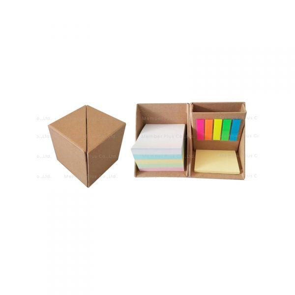 กล่องกระดาษโน๊ต โพสอิท Post It Stationary พรีเมี่ยม สกรีนโลโก้