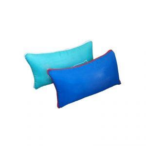 หมอนอิง พรีเมี่ยม Pillow ปักโลโก้ เย็บโลโก้ Tag Logo