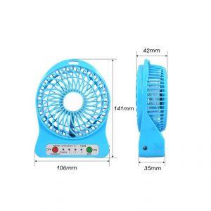 พัดลมพรีเมี่ยม สกรีนโลโก้ Portable Mini USB Fan