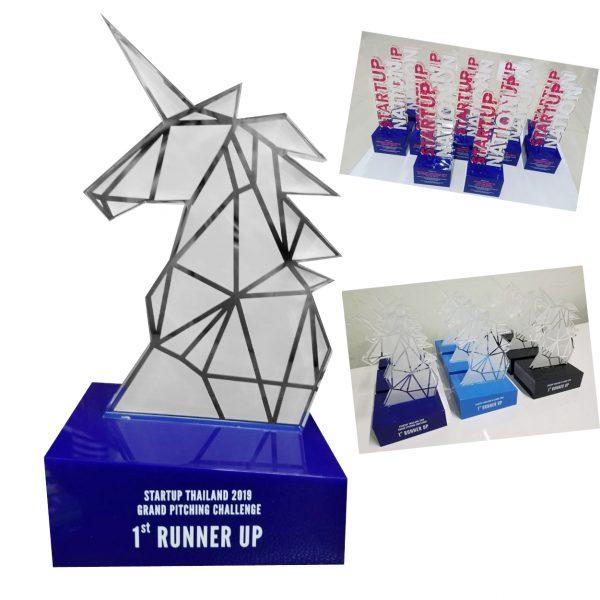 โล่อะคริลิค Award ออกแบบ ผลิต สั่งทำ