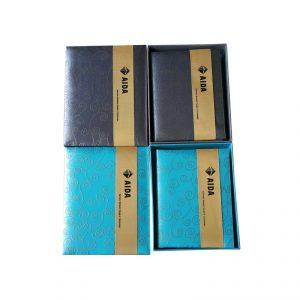 สมุดผ้าไหมปักโลโก้ Thai Silk Book
