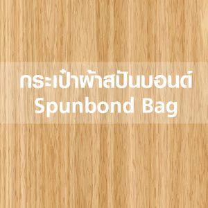 กระเป๋าผ้าสปันบอนด์