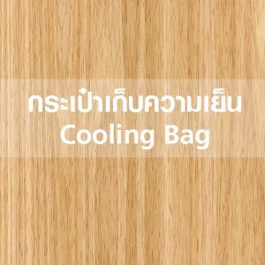 กระเป๋าเก็บความเย็น Cooling Bag