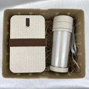 แก้ว x กล่องข้าว รักษ์โลก ECO GiftSet ปีใหม่ พร้อมกล่องไข่