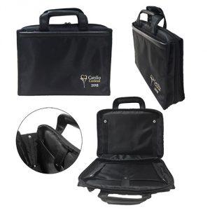 กระเป๋าโน๊ตบุ๊ค Laptop กางออกได้ 180 องศา พรีเมี่ยม สกรีนโลโก้