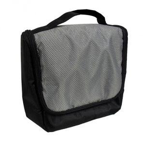 กระเป๋าถือผู้ชาย สีดำ พรีเมี่ยม สกรีนโลโก้