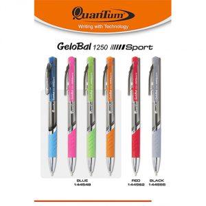 ปากกาหมึกเจล Quantum GeloBal QT 1250 Sport