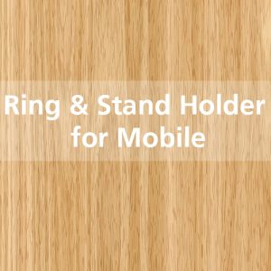 Ring & Stand Holder for Mobile Phone