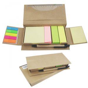 ECO Post-it sticky notes Ruler & Pen Stationery