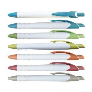ปากกา ฟางข้าวสาลี ปากกา Eco พรีเมี่ยม สกรีนโลโก้