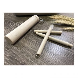 หลอดรักษ์โลก Eco wheat Straw