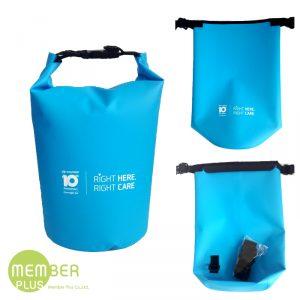 กระเป๋ากันน้ำ Waterproof Bag มีสายสะพาย พรีเมี่ยม สกรีนโลโก้