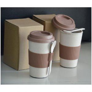 Double Wall Wheat Mug สินค้ารักษ์โลก