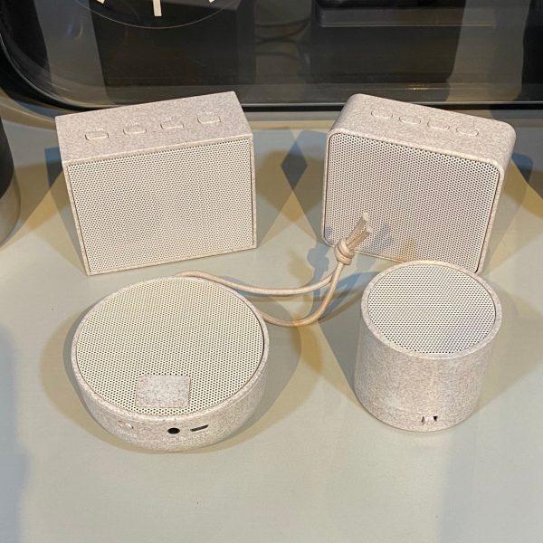 ลำโพง Bluetooth Eco Speaker จากฟางข้าวสาลี IT ECO