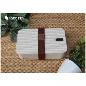 กล่องข้าวมีสายรัด ECO Wheat Box Lunch