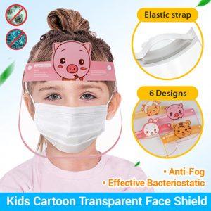 Face shield สำหรับเด็ก หน้ากากใส
