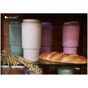 แก้วน้ำฟางข้าวสาลี Eco Wheat