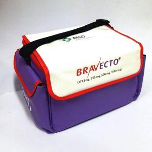 กระเป๋า เก็บความเย็น Cooler Bag สีม่วง