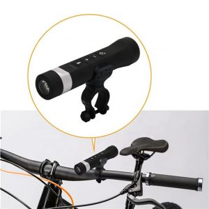 Bicycle Multi-Function ติดจักรยาน 4 in 1 Flashlight With Universal Phone Mount
