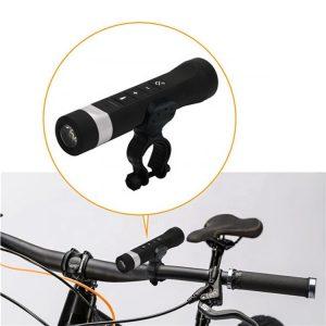Bicycle Multi-Function ติดจักรยาน 4 in 1 Flashlight With Universal Phone Mount