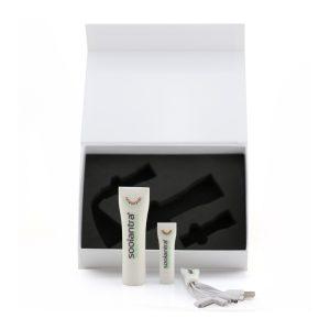 สายชาร์จหลายหัว 5 in 1 USB หลอดยาสีฟัน พร้อมกล่อง