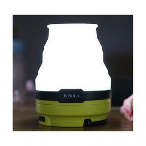 โคมไฟพกพา ใช้พลังงานแสงอาทิตย์ + USB เหมาะสำหรับ เดินทางท่องเที่ยว